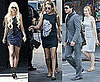 Pictures of Taylor Momsen Filming Gossip Girl Season Four in NYC With Blake Lively, Kelly Rutherford, Matthew Settle
