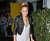 Slide Picture of Lauren Conrad Arriving at a Club in LA