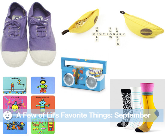 A Few of Lil's Favorite Things: September