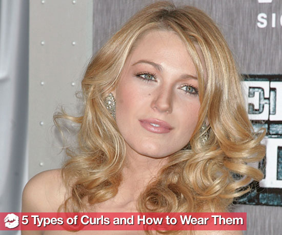 5 Types of Curls and How to Wear Them