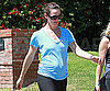 Slide Picture of Jennifer Garner Walking in LA