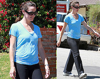 Pictures of Jennifer Garner Walking It Out in LA