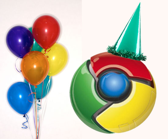 Happy Birthday Google Chrome!