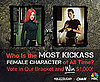 The Most Kickass Female Characters of All Time 2010-09-07 07:30:00