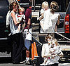 Pictures of Angelina With Knox and Vivienne Visiting Brad Pitt In LA