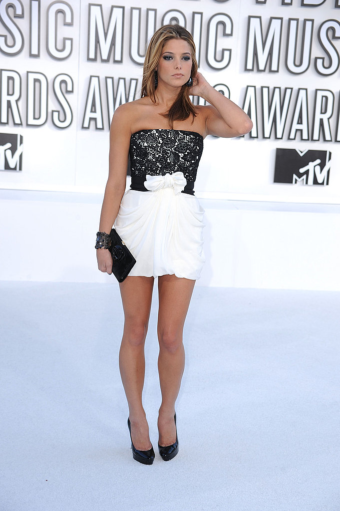 Picturse of Ashley Green at the VMA