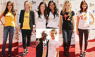 Vanessa Hudgens, Kristen Bell, Gwyneth Paltrow at the Stand Up to Cancer Event