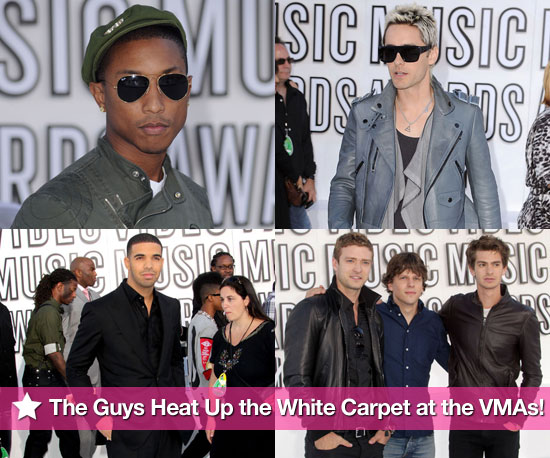The Guys Heat Up the White Carpet at the VMAs!