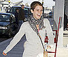 Slide Picture of Emma Watson at Heathrow