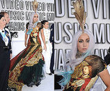 Lady Gaga Wears Alexander McQueen at 2010 MTV VMAs