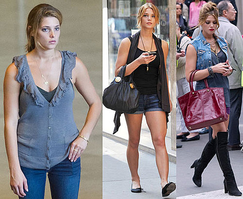 Pictures of Ashley Greene in Paris Filming LOL