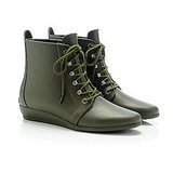 Rain Bootie in Army, $165