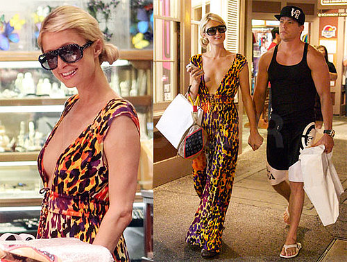 Pictures of Paris Hilton Vacationing in Hawaii With Cy Waits