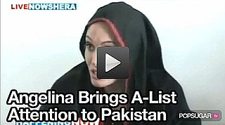 Video of Angelina Jolie in Pakistan 2010-09-07 10:45:00