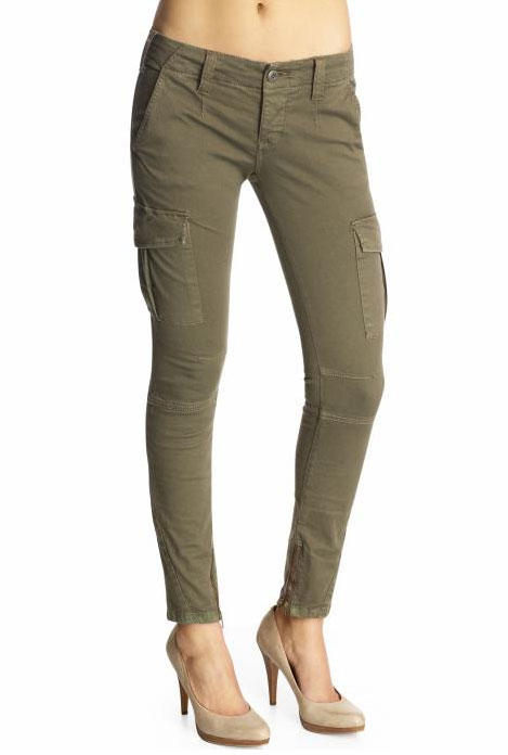 Free People Skinny Military Pants ($98)