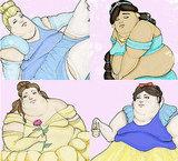 Obese Disney Princesses