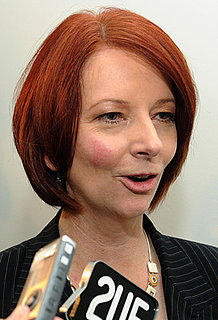 Australia's New Prime Minister Julia Gillard's New Beauty Look