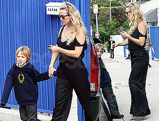 Pictures of Kate Hudson and Ryder Robinson in LA