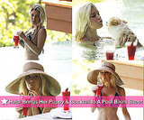 Pictures of Heidi Montag in the Pool in Costa Rica