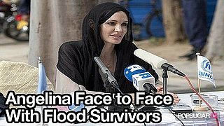 Video of Angelina Jolie in Pakistan