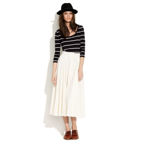 Alexa Chung for Madewell Silk Margot Skirt ($158)