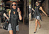Pictures of Victoria Beckham in NYC Before Her Fashion Week Show