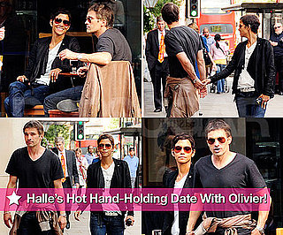 Pictures of Halle Berry With New Boyfriend Olivier Martinez in London