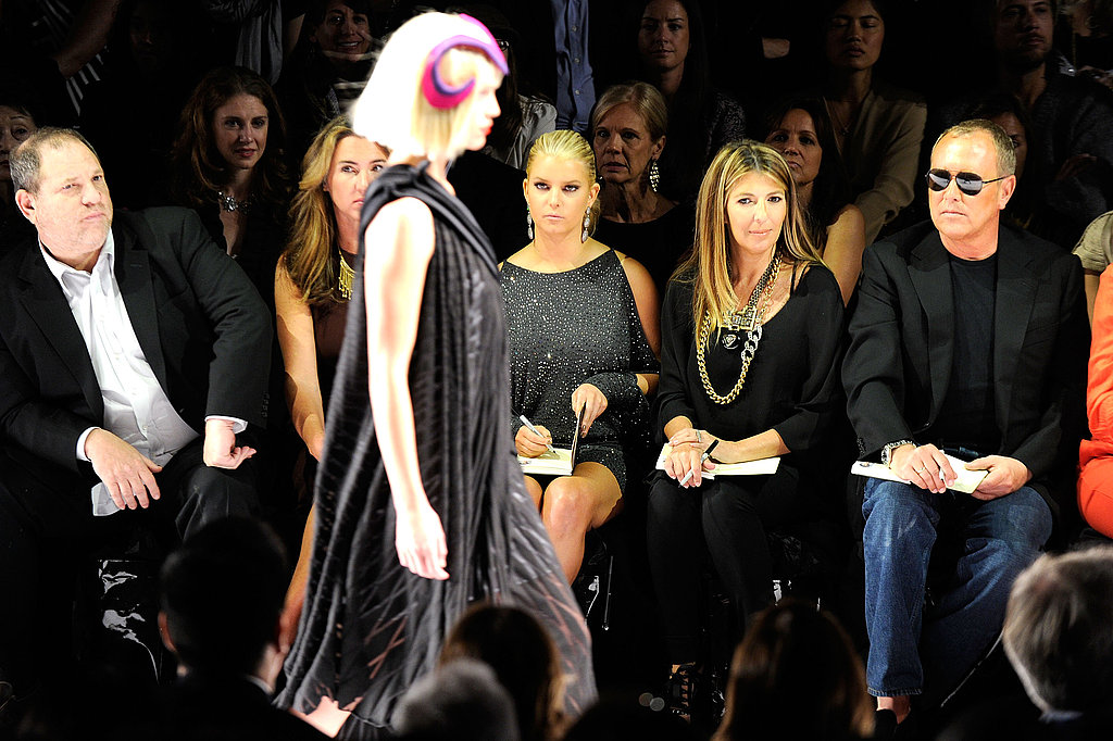 Pictures of Jessica Simpson Judging Project Runway
