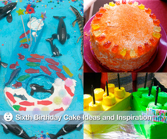 Sixth Birthday Cake Ideas and Inspiration 