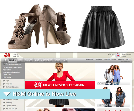 Shop H&M Online in the UK and Europe Now | POPSUGAR Fashion UK