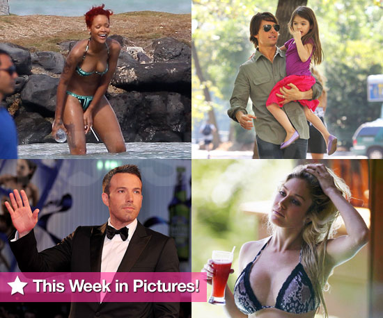 Tom and Suri Cruise, Rihanna and Heidi Montag in Bikinis, and More in This Week in Pictures!