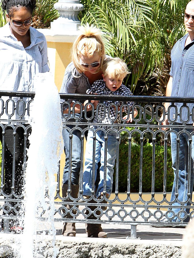 Pictures of Britney Spears and Jayden James
