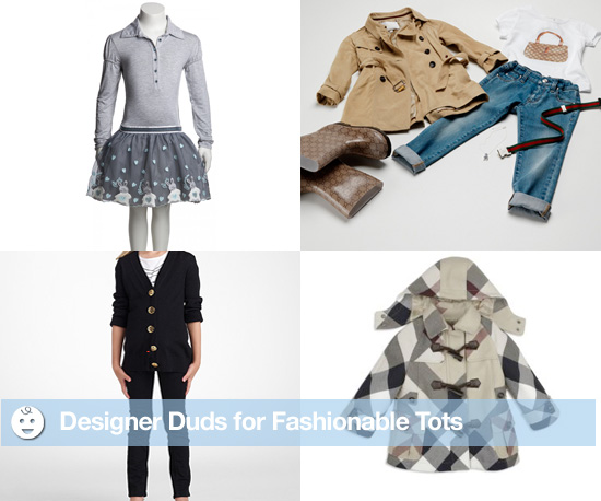 Designer Duds For Fashionable Tots