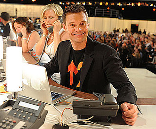 Slide Picture of Ryan Seacrest at the Stand Up to Cancer Event in LA