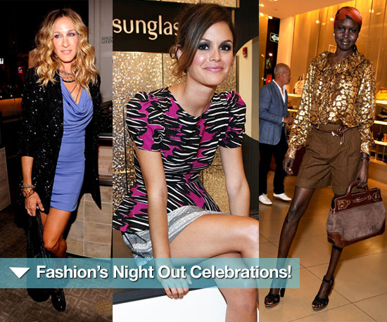 Fashionable Fun! Celebs and Celebrations For Fashion's Big Night Out