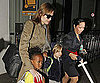 Picture Slide of Angelina Jolie at LAx