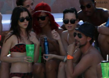 Rihanna and Katy Perry: Poolside Bachelorette Babes