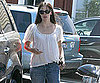 Slide Picture of Jennifer Garner Leaving Brentwood Mart in LA