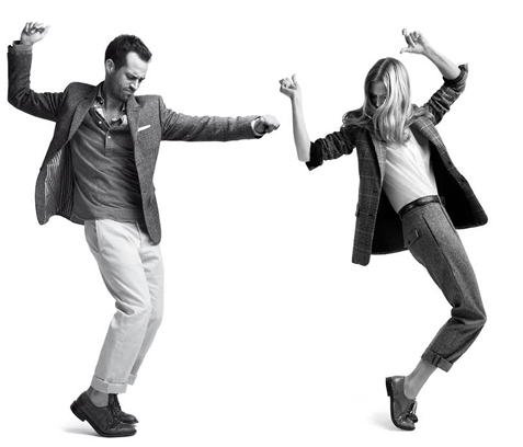 In Honor of Natalie Portman's Engagement, Check Out Her Ballet Dancer Fiance in Club Monaco's Fall Campaign