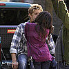 Guess Who's Stealing a Kiss on Set?