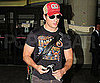 Slide Picture of Peter Facinelli at LAX