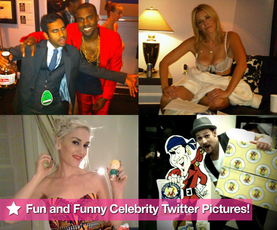 Gwen Stefani, Joel Madden, Chelsea Handler, and Kanye West in This Week's Fun and Funny Celebrity Twitter Pictures!