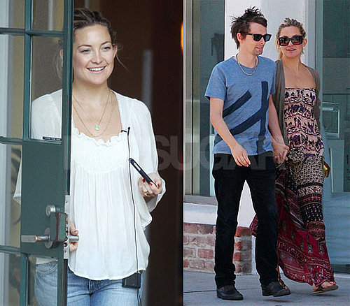 Pictures of Kate Hudson and Matt Bellamy Together in LA