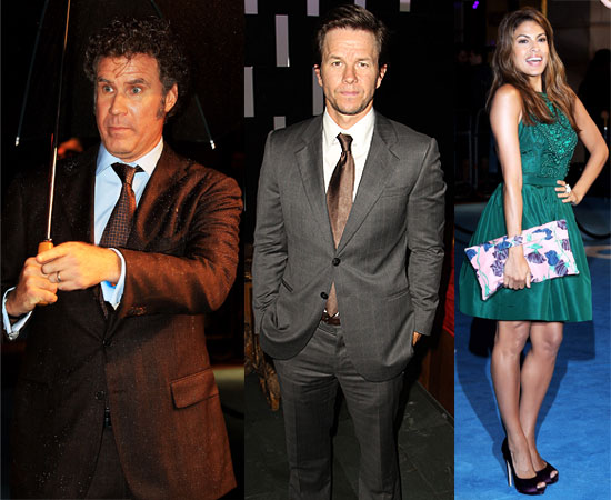 Pictures of Eva Mendes, Mark Wahlberg and Will Ferrell at The Other Guys London Premiere
