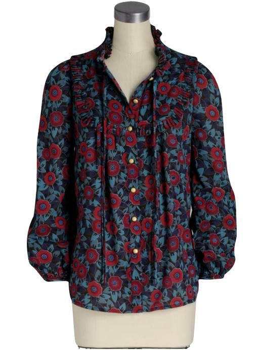 Marc by Marc Jacobs Hana Floral Blouse ($228)