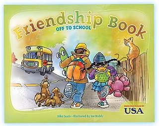 Friendship Books Have Kids Work Together to Build Their Story