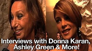 Spring 2011 New York Fashion Week Interviews: Donna Karan, Ashley Greene, Rachel Zoe, Susan Sarandon