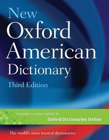 New Oxford American Dictionary Additions
