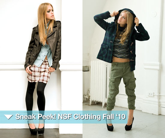 Sneak Peek! Introducing NSF Clothing For the (Cool) Girls