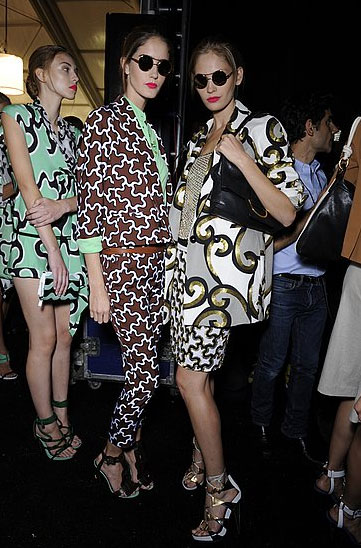 Best Zoolander impressions at DVF.